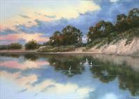 pastelsocietyofcolorado-reflectionsontheslough-candiceferguson-oxnardca